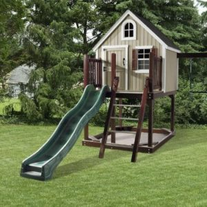 Treehouse Loft Backyard Play Set