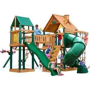 Gorilla Playsets Catalina Cedar Wooden Swing Set