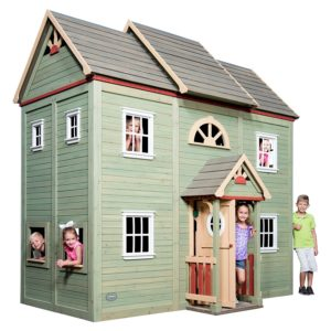 Backyard Discovery Victorian Mansion 2-Story All Cedar Wooden Playhouse