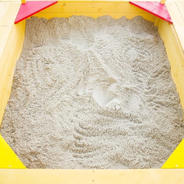 Outward Play Playfort Activity Sandbox with Canopy 5